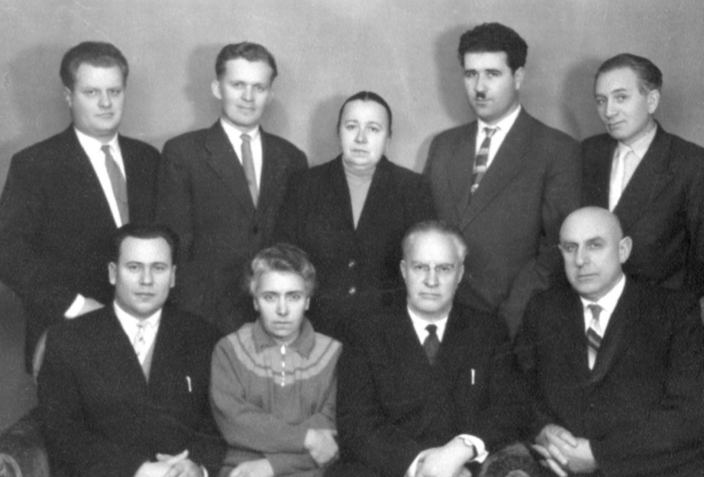 Sait MMJ Fig 2 Editorial Board in 1959